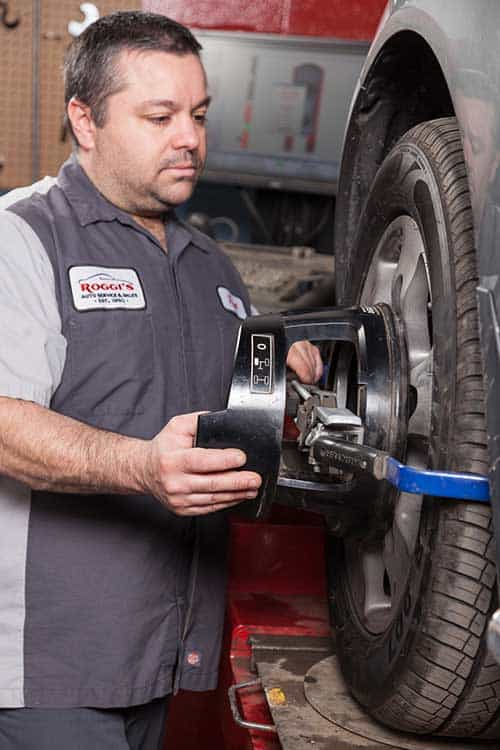 Steering and Suspension Wheel Alignment