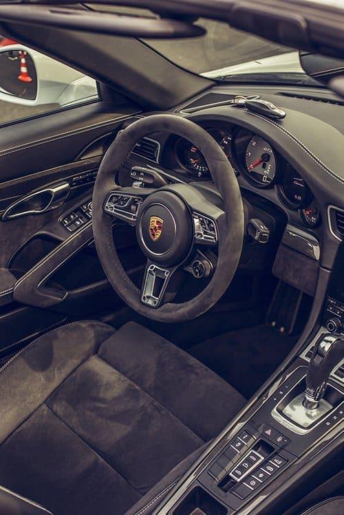 Porsche Boxer Interior